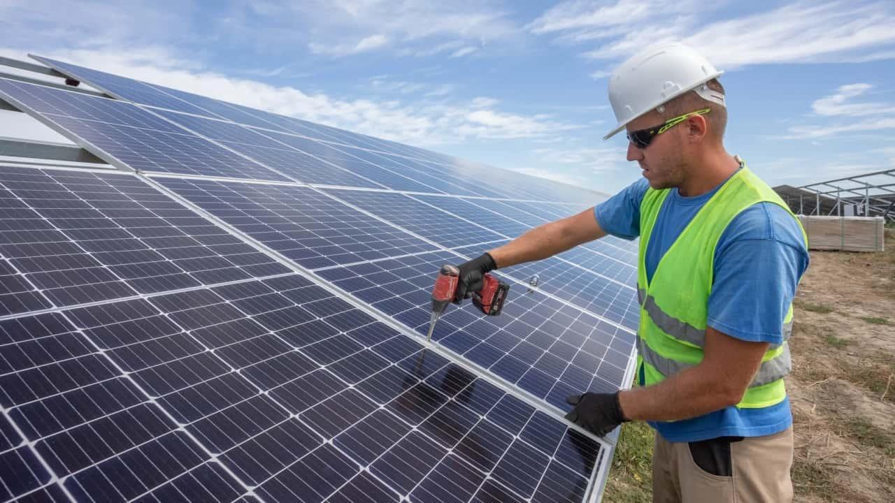 IBC Solar Napelempark Kaba